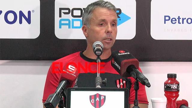 """""""Siempre que se contrata un entreandor hay objetivos"""", dijo Álvarez."""