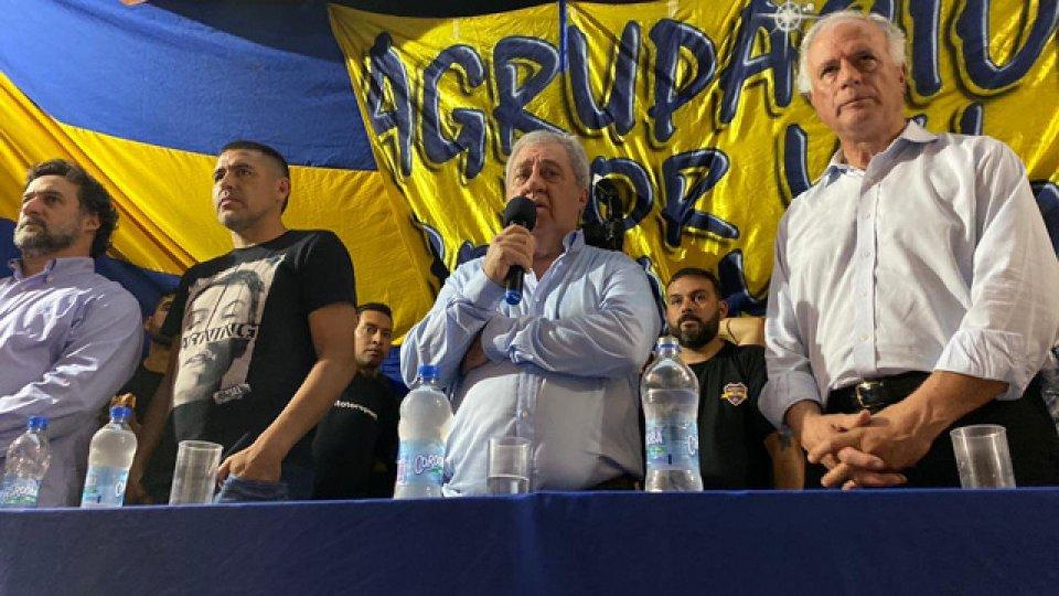 Ameal y Riquelme en plena campaña de cara a la elección.