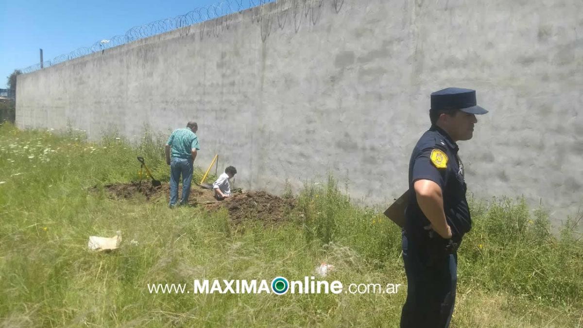 Encuentran restos óseos en un baldío tras una denuncia realizada por el director de Máxima