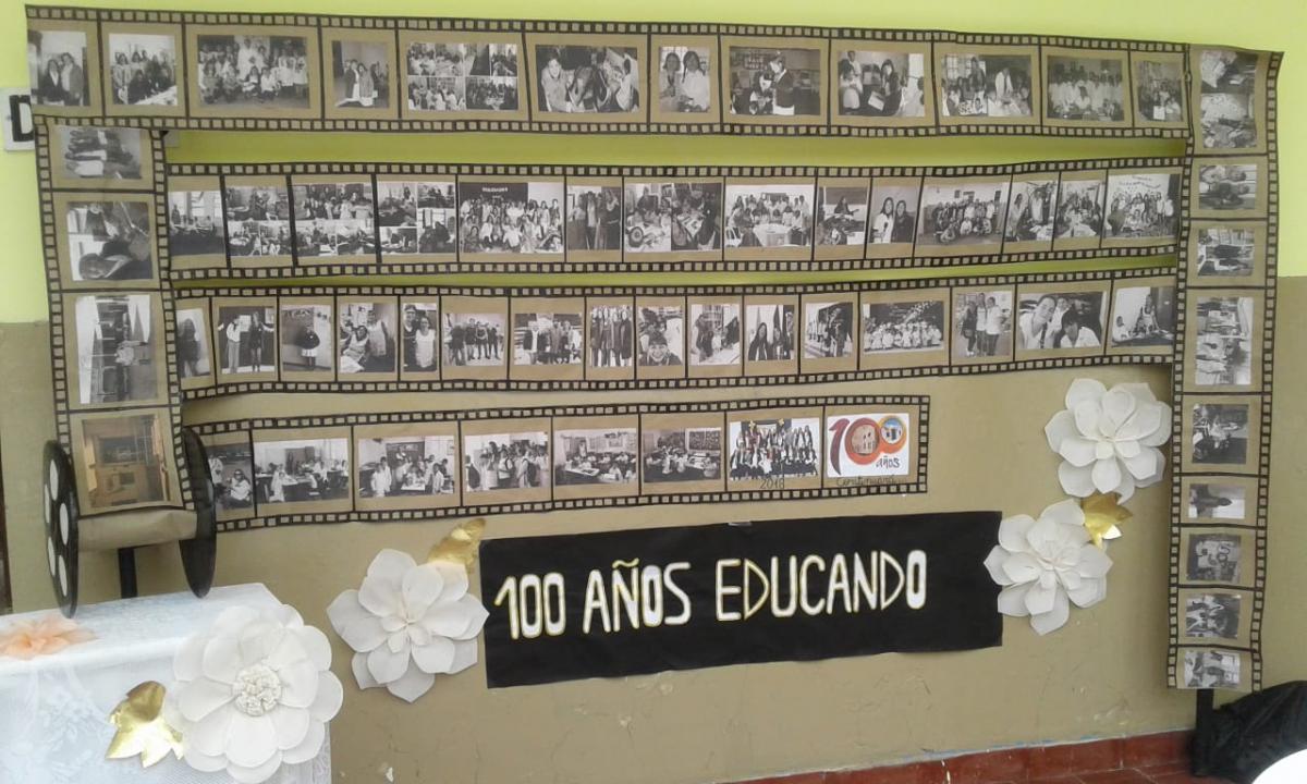 El barrio de Pueblo Nuevo está de fiesta con la celebración de los 100 años de la escuela Nº 9