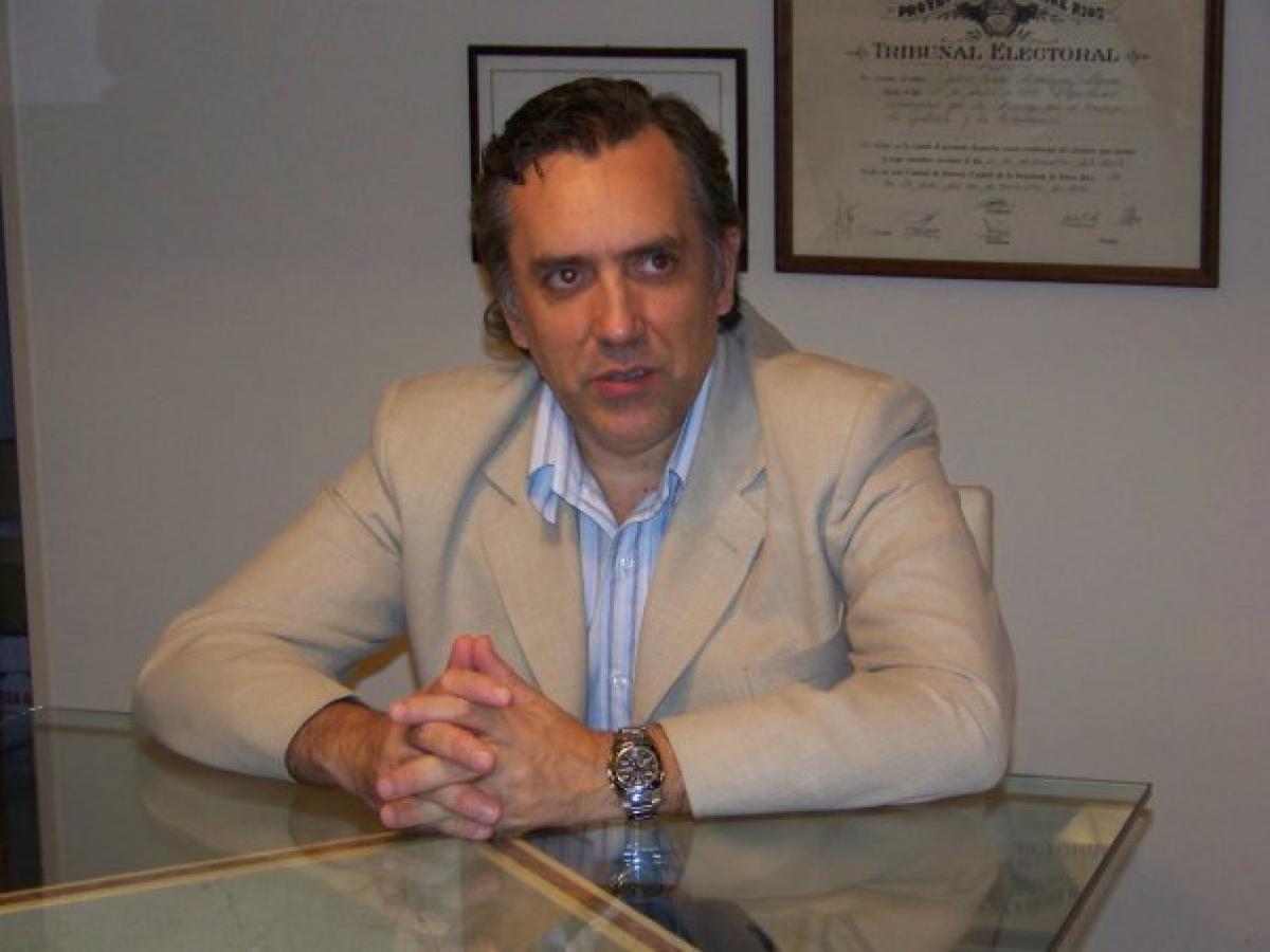 """""""El 50% de lo que falta para finalizar el Bicentenario es equipamiento y eso se cotiza en dólares"""", dijo Rodríguez Signes"""