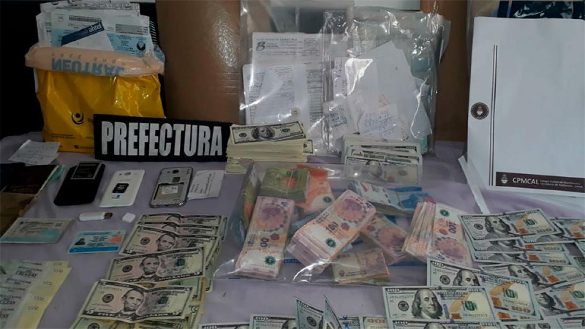 """Droga, falsificación y lavado: Cómo operaba la banda de """"los uruguayos"""""""