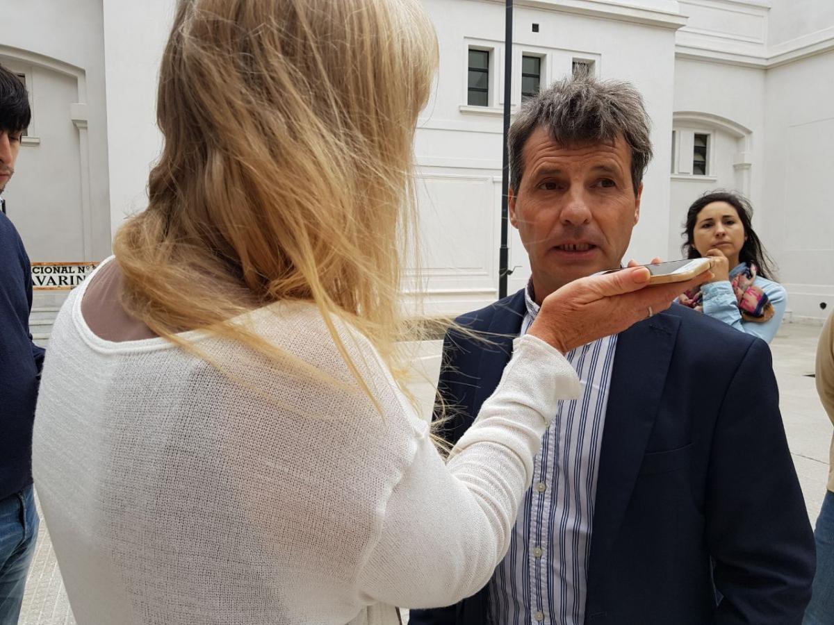 """Para terminar el Hospital, """"veremos pedir financiamiento a Nación, que hoy no tenemos"""", dijo el titular de Planeamiento"""