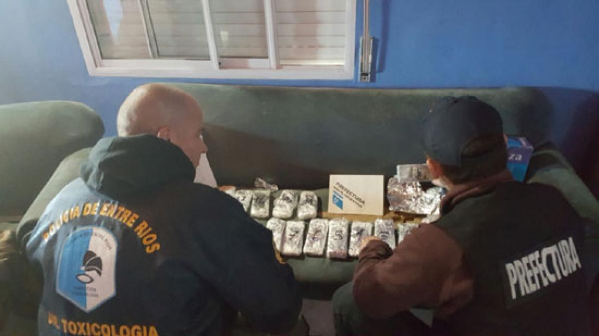 Secuestraron 318 mil dólares en relación a la banda narco internacional