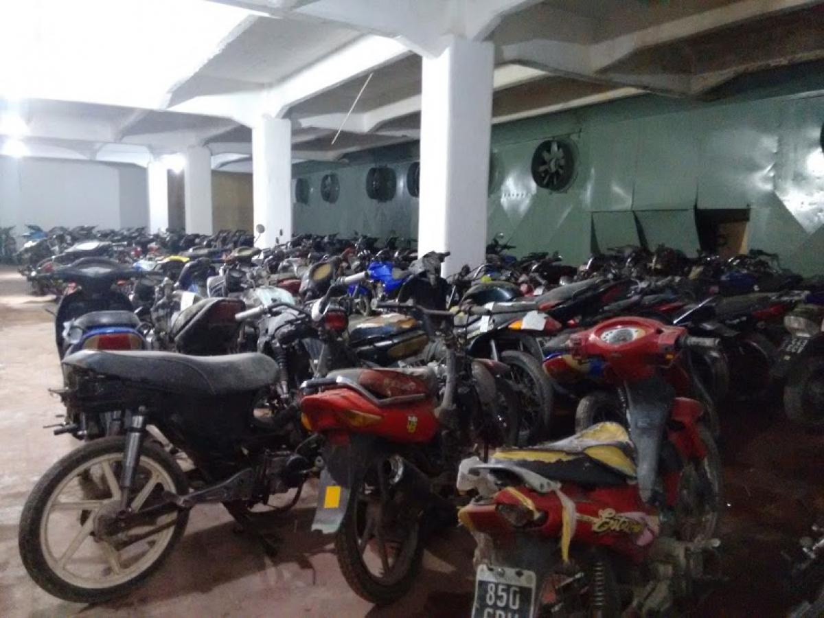 El  27 de noviembre se realizará la compactación de vehículos y motos en el Frigorífico