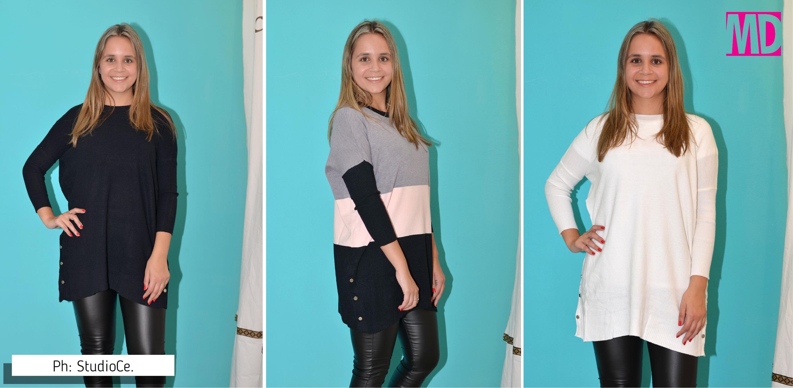 Maxi sweater, un aliado de este invierno