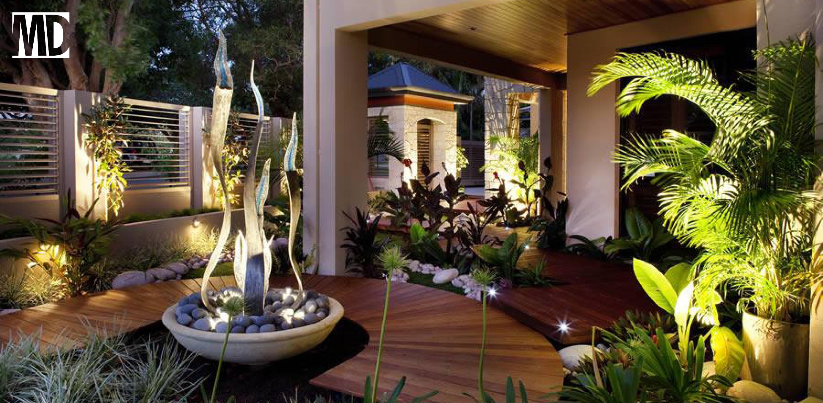 Un jardín al frente de mi casa u oficina: Invita a la energía a entrar